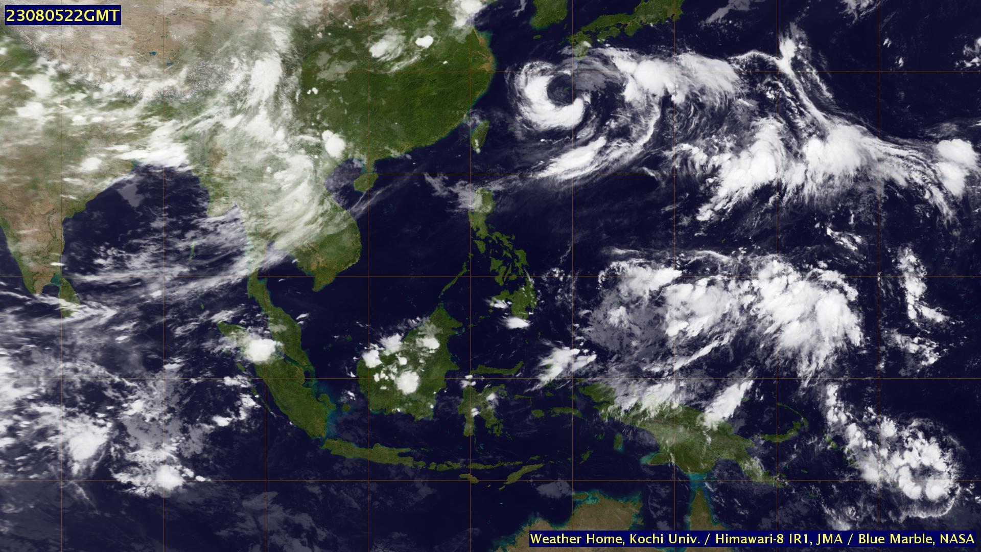 Foto satelit cuaca Himawari Online