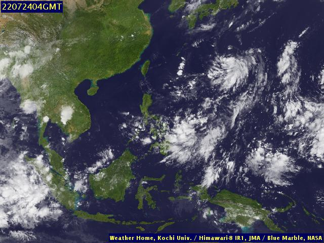 Infrared Enhanced South East Asian Region (University of Kochi)